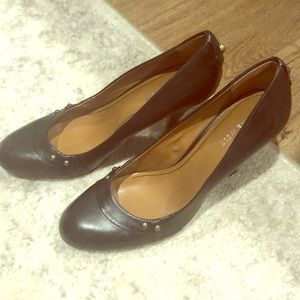 Nine West Black Heels 9.5